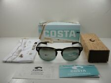 48ad5c8421 COSTA DEL MAR POLARIZED SUNGLASSES DEL207 OSGGLP TIDE POOL SILVER GRAY 580  GLASS