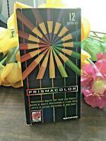 c.1999 VTG NEW UNUSED! PRISMACOLOR Pencil Set in Box -- MISSING ONE PENCIL