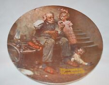 "Norman Rockwell ""The Gobbler"" Plate with C.O.A. and box ( 6,Pl2)"