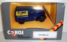 CORGI  1/43 - D980 FORD POPULAR VAN - CORGI COLLECTORS CLUB 1989