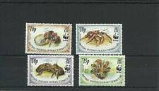 BIOT SG132-135 COCONUT CRAB MNH