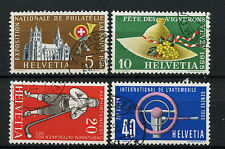 Switzerland 1955 SG#558-561 Publicity Issue Used Set #A69950