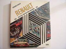 """(en Allemand) """"RENAULT - Der Weg Zum Weltunternehmen"""" / E.Seidler / Edita - 1973"""