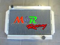 For Holden V8 Chevy Motor Universal aluminum radiator 3 rows