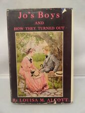 Jo's Boys and How They Turned Out c1925 Louisa May Alcott Sequel to Little Men