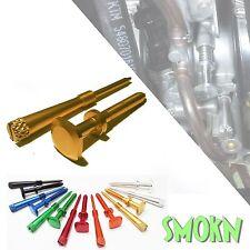 Suzuki RM 250 Keihin PWK Easy Adjust Idle Screw & Air Mixture Screw Set Gold