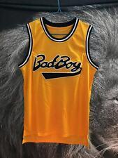 Bad Boy #72 Smalls Yellow Basketball Men's L Jersey