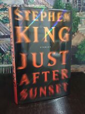 Stephen King Just After Sunset TRUE First Edition $28.00 SCRIBNER