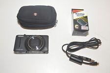 Nikon COOLPIX S9300 16.0MP Digital Camera - Black + WENGER SWISS CASE