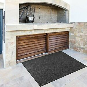 Fireproof Fireplace Hearth Rug Non Slip Protection Mat Flame Resistant Pad UK
