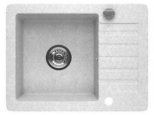 Granit évier Evier de cuisine Küchen excentrer par rotation 44x58 cm l20