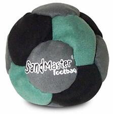 World Footbag SandMaster Hacky Sack Footbag Green/Grey/Black