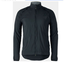NWT Bontrager men's circuit wind black jacket-M-$99