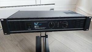 W Audio Da500 Series 500W Pro Power Disco/ PA Amplifier