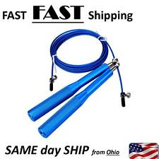 Metal Boxing Gym Skipping Rope Jumping Speed Wire Exercise Fitness Training