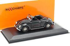 Volkswagen VW Hebmüller Cabriolet Anno 1950 Nero 1:43 minichamps