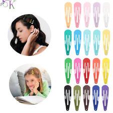 20pcs Girl Snap Hair Clip Children Kids Hair Pins BB Hairpin Women Cute Barrette