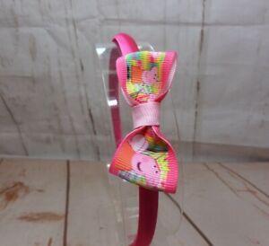 Girls  Alice Style Bands Headbands  Hot Pink Pepper Pig