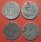 10 centimos 1941 en MBC- lote de 4 monedas