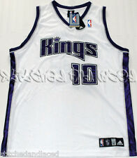 ADIDAS AUTHENTIC SACRAMENTO KINGS MIKE BIBBY JERSEY 52 NWT 2007