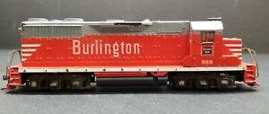 Athearn HO Burlington Route Locomotive Orange #989