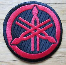 Aufnäher / Aufbügler/ Patch: YAMAHA - Logo - rot - Rar!