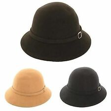 Damen-Glockenhüte aus 100% Wolle Damenhüte & -mützen