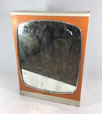 Vintage Ancienne Armoire Pharmacie Orange !