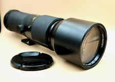 VIVITAR 400mm 5.6 Telephoto Lens for MINOLTA MD SLR fit with caps