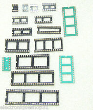 Support CI tulipe de 6 à 44 pins Lot de 2, 5 ou 10