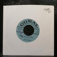 "Billy Williams - The Pied Piper/Butterfly VG+ Promo 7"" Vinyl 45 Coral 9-61795"