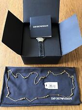 Emporio Armani EG3266710 Ladies' PVD Gold plated Finesse Necklace - New