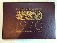 Royal Mint LSD Coinage of Britain and Northern Ireland 1970, cased proof set