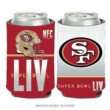 SAN FRANCISCO 49ERS NFC CHAMPS SUPER BOWL LIV CAN / BOTTLE COOLER HOLDER COOZIE
