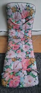 """Sun Bath Bed Soft Matress pink,floral rare 64""""x 19 inches Approx rare,Used"""