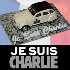 Je Suis Charlie HEBDO CITROEN 2cv Spirit of France Diecast Car 74mm BNOC COA