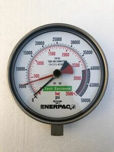 Enerpac T 6011L Test Systems Pression Jauge 3500 Barre / 50,000 Psi # Neuf