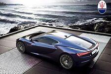 """2013 Maserati Bora Concept  supercar Poster  24""""x36"""" HD"""