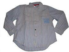 s. Oliver tolles Hemd Gr. 116 / 122 hellblau-weiß-rot gestreift !!