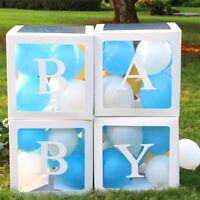 A-Z Transparent Balloon Gift Boxes Birthday Baby Shower Party Bag Fillers Decor