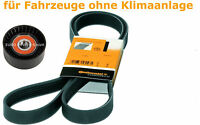 Keilrippenriemen + Spannrolle VW CADDY III 1.9 2.0 TDI SDI