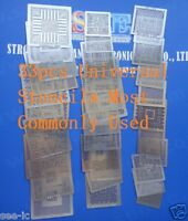 select 33pcs Direct Heated Stencils set Lastest Version Cover Most Chipset Items