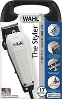 WAHL The Styler 17 Peice Made in the USA Steel Carbon Complete Haircutting Kit