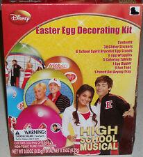 Zac Efron Disney HSM Easter Party Basket Egg Hunt Decorating Coloring Kit Gift