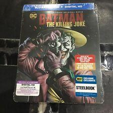 The Killing Joke Blu-ray DVD Steelbook Digital)   Best Buy Target   Batman NEW