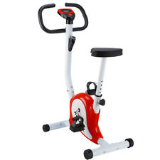BICI DA FITNESS SPINNING CYCLETTE SPINBIKE BICICLETTA TRAINING Regolabile ROSSO