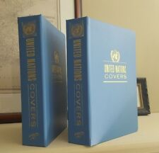 TWO  White Ace United Nations First Day Cover Album sleeves for 100 covers each
