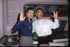 GEORGE TAKEI WALTER KOEING DEFOREST KELLY 35mm SLIDE TRANSPARENCY 5590 PHOTO