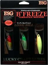 LUCKY CRAFT JAPAN Pointer/B'Freeze 78LB-S - 3 Lures Set Muddy Selection B