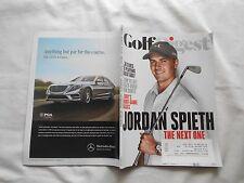 GOLF DIGEST Magazine-SEPTEMBER,2014-JORDAN SPIETH-36 CLUES TO PLAYING GREAT GOLF